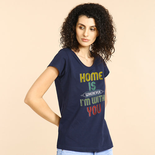You Are My Home, Matching Couples Tees For Women