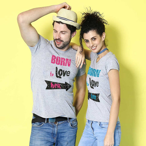 Born To Love, ,Matching Couples Tees