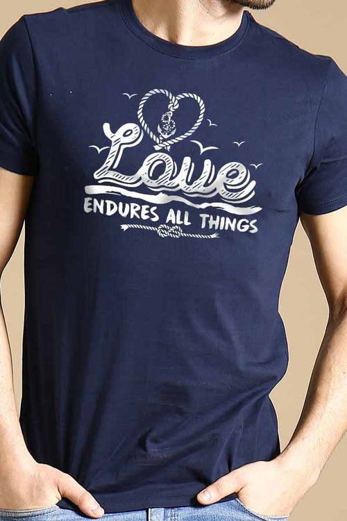 Love Endures All Things Couple Tees