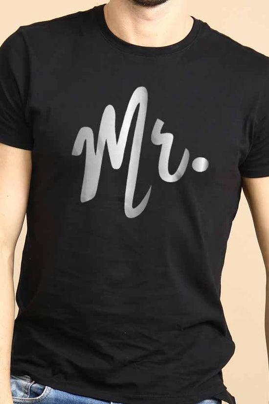 Mr. & Mrs. Black Tees