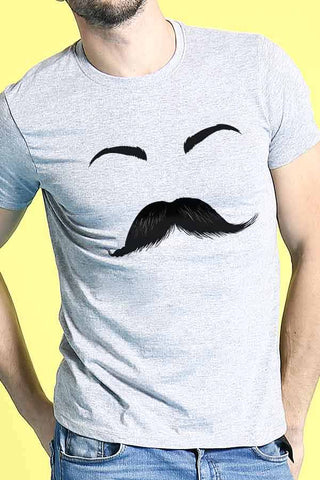 Moustache/Eyelash Couple Tees