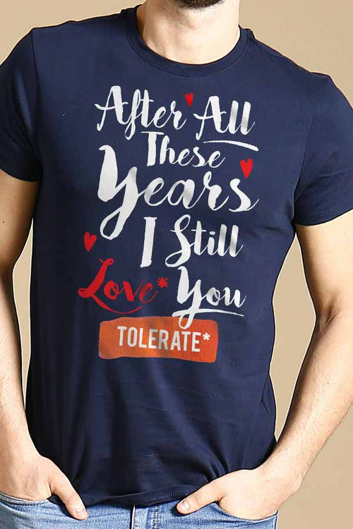 Love you Tolerate you Combo Tee