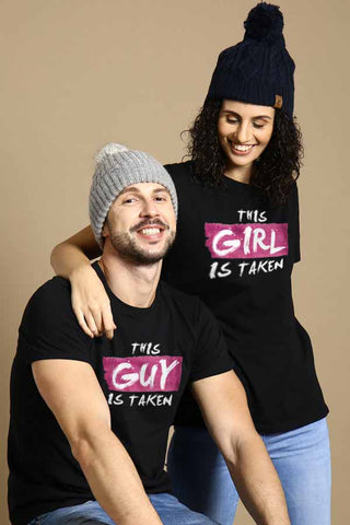 This guy/girl is Taken Combo Tee