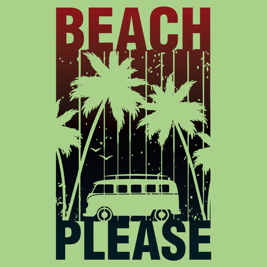 Beach Please Matching Tees For Family