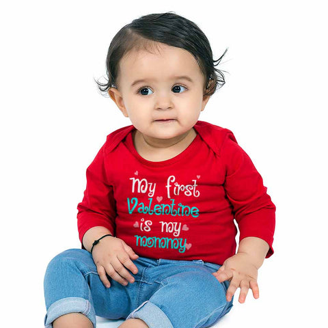 My First Valentine Babysuit