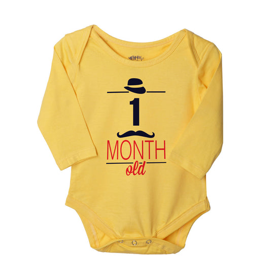 My First Three Months, Set Of 3 Assorted Bodysuits For The Baby