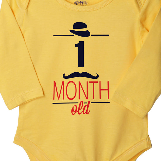 1 Month Old, Bodysuit For Baby
