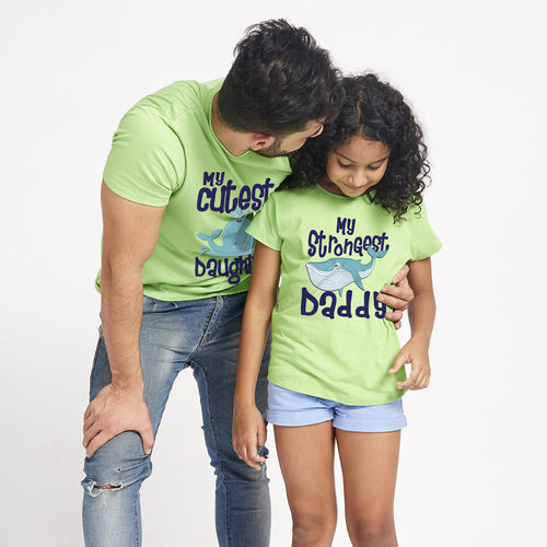 Cutest Daughter/Strongest Daddy Tees