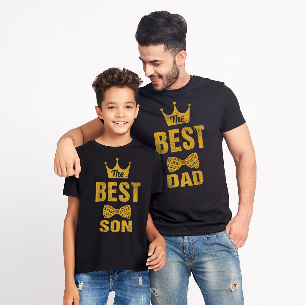 5e62f96d Best Dad And Son Matching Tshirt - BonOrganik