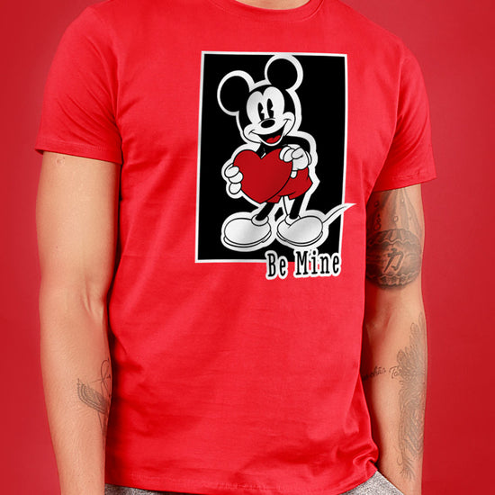 Be Mine, Disney Couple Crop Top And Tee