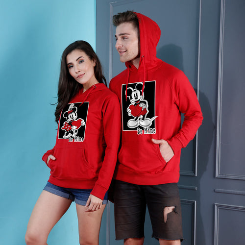 Be Mine, Disney Couple Hoodies