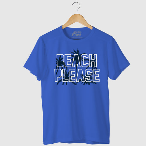 Beach Please, Matching Travel Tees