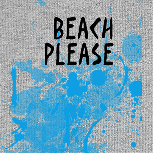 Beach Please, Tee For Men