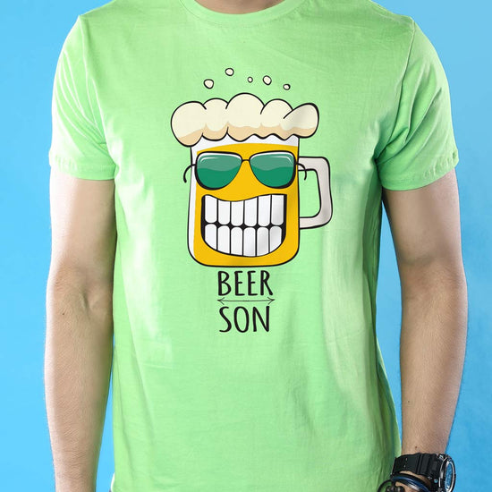 Beer Boys, Dad And Son Matching Adult Tees