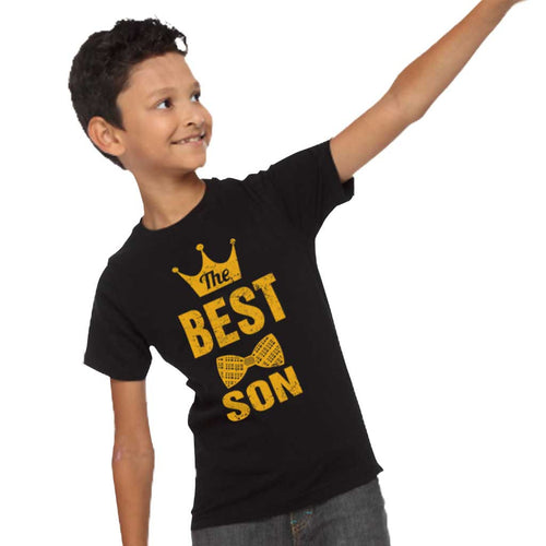 Black Best Dad And Son Tees For Son