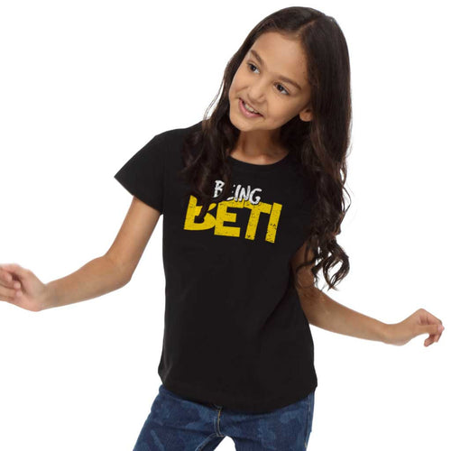 Being Papa Beti Beta Dad, Daughter & Son Tees For Daughter