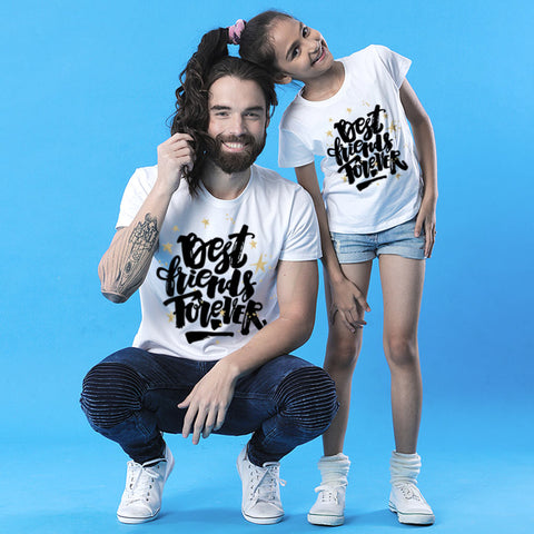 Best Friends Forever Dad and Daughter Tee