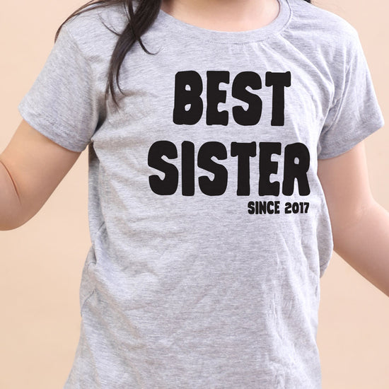 Best Since, Personalised Tee For Sister