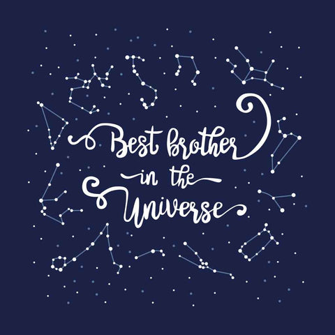 Best brother in the Universe Adult Tee