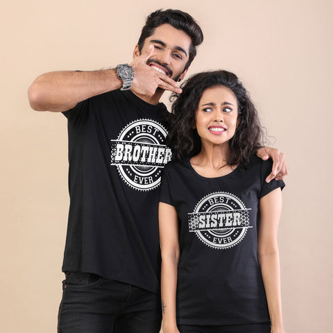 The Best, Matching Tees For Brother And Sister Adults
