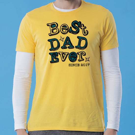 Best Dad, Personalized Tee For Dad