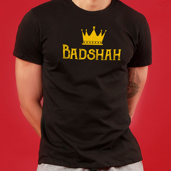 Badshah/Begum, Matching Couple Crop Top And Tee
