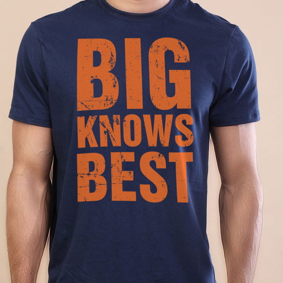 Big Knows Best-Small Knows Rest Adult Tees