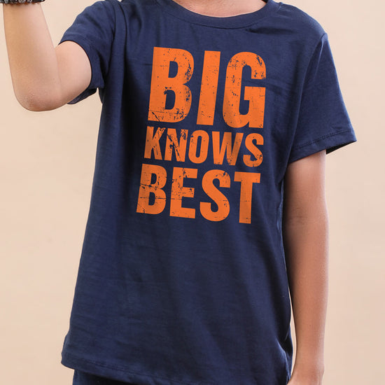 Big Knows Best-Small Knows the Rest Tees