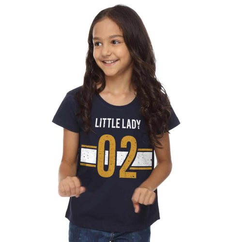 Bigman Little Lady Dad Tee For Daughter