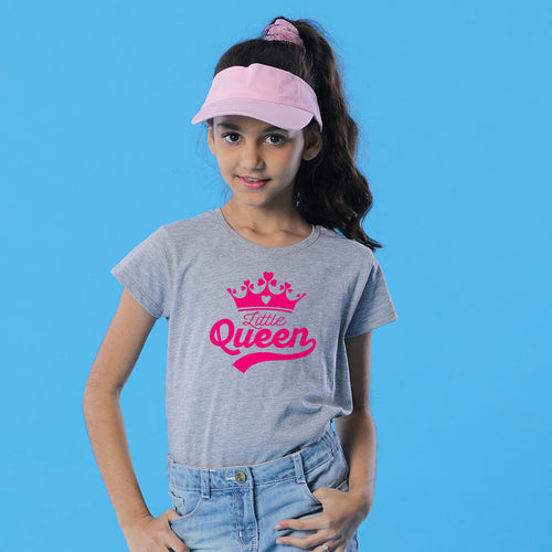 Big Queen Little Queen Mom Daughter Tees
