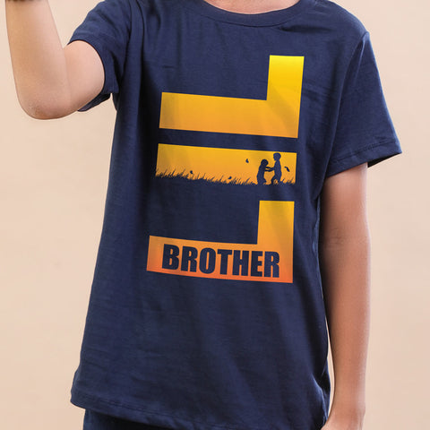 Lil Brother Tees For Boy