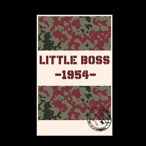 Big boss little boss dad & daughter tees