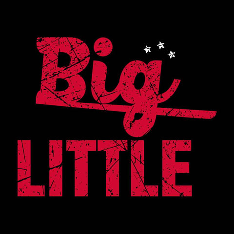 Big Little Adult Tee
