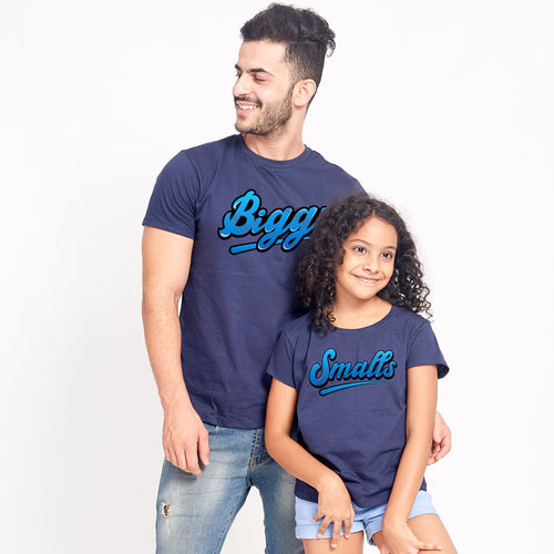 Biggie/Small, Matching Dad & Daughter Tees