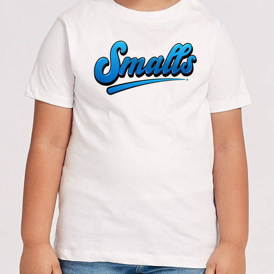 Small And Biggie, Off-White Matching Dad And Son Tees