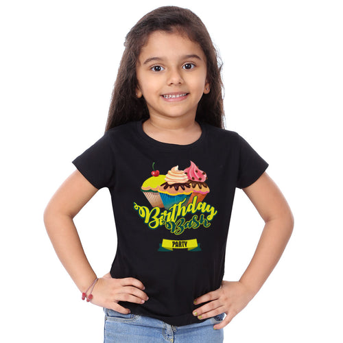 Birthday Bash Party Family Tees for daughter