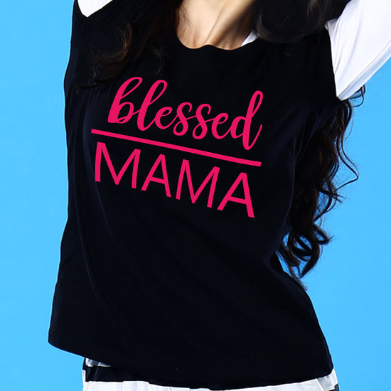 Little Blessing, Matching Tee And Bodysuit For Mom And Baby (Girl)