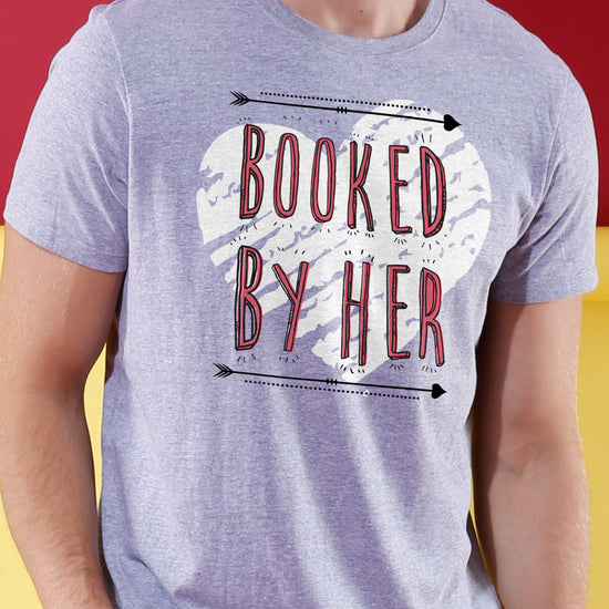 Booked By Him/Her Crop Top & Tee