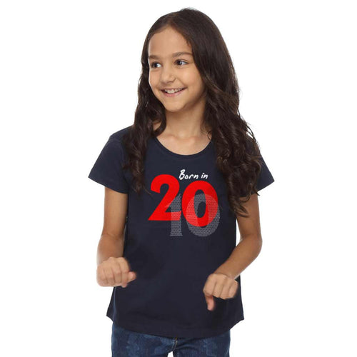Born In 2010 Birthday Girl Tee
