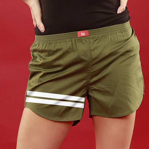 Bedroom Boss Similar Olive Green Couple Boxers