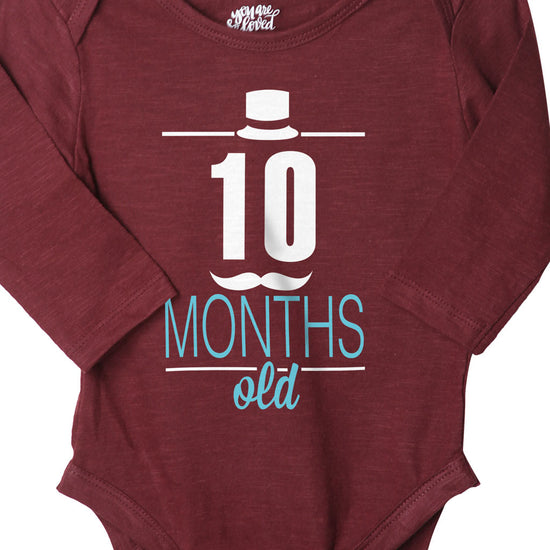 10 Months Old, Bodysuit For Baby