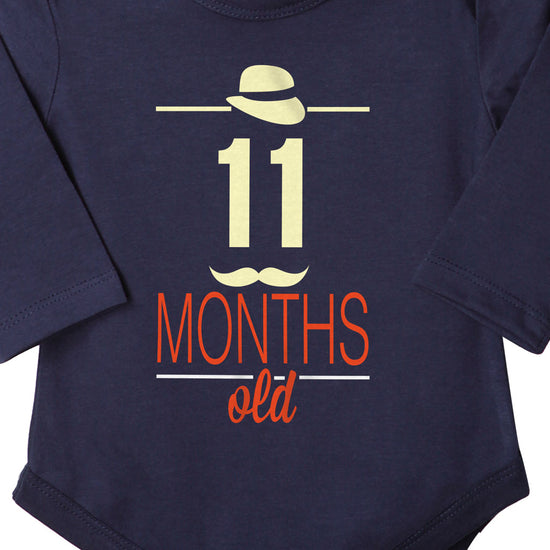 11 Months Old, Bodysuit For Baby