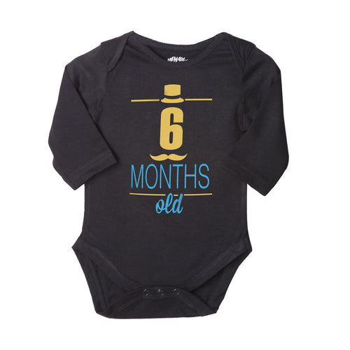 6 Months Old, Bodysuit For Baby