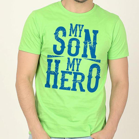 Heroes In Green Dad And Sons' Matching Tees
