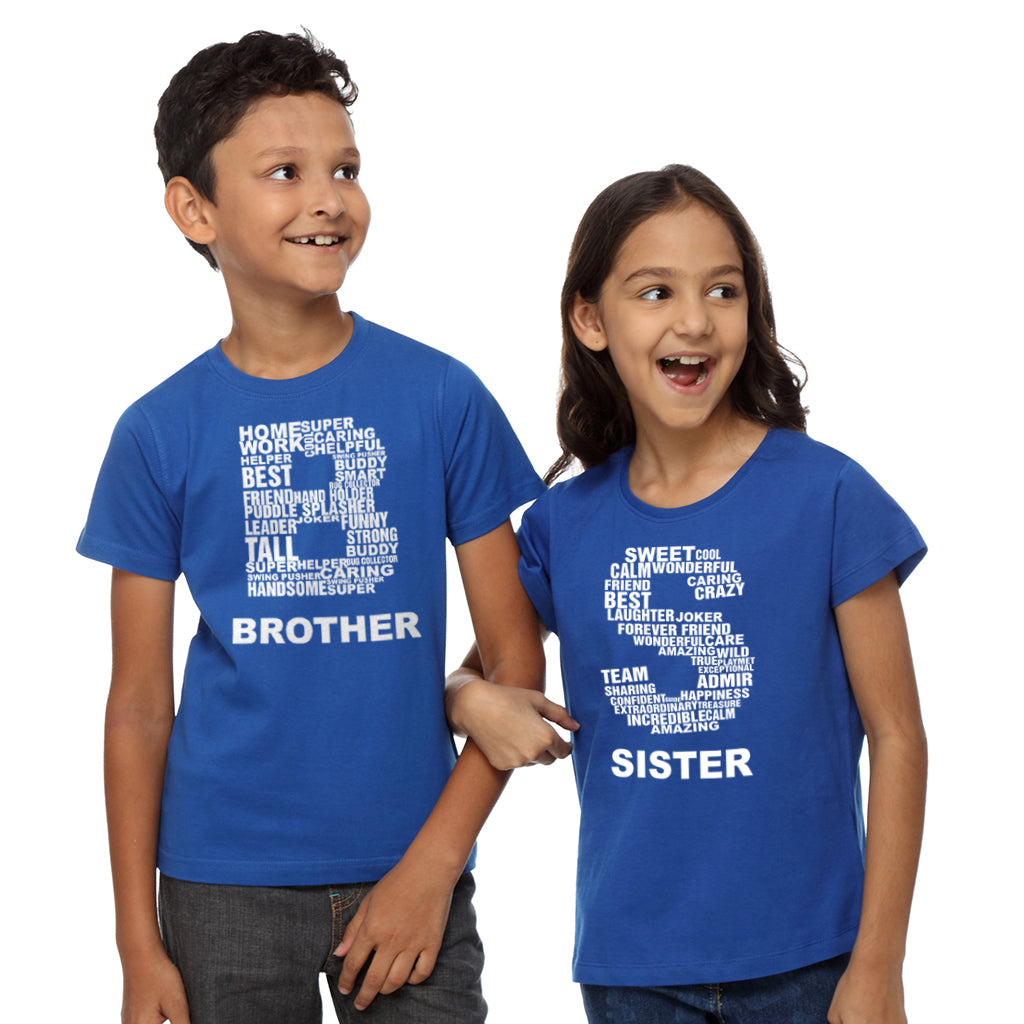Picture For Brother Sister: Brother-Sister Tees