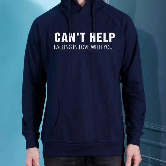 Can't Help Falling In Love Hoodies For Men