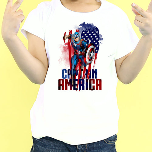 Captain America Shield, Marvel Kids Tees