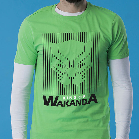King Of Wakanda, Matching Marvel Tees For Dad And Son