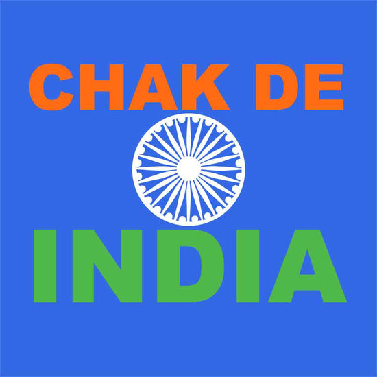 Chak de india dad & son tees