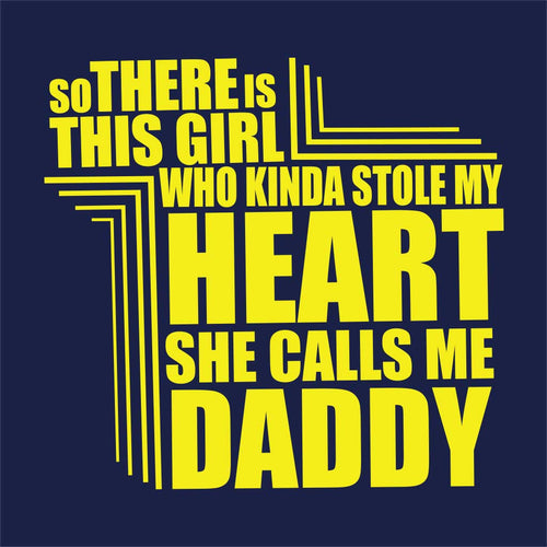 Heart Dad And Daughter Matching Tees